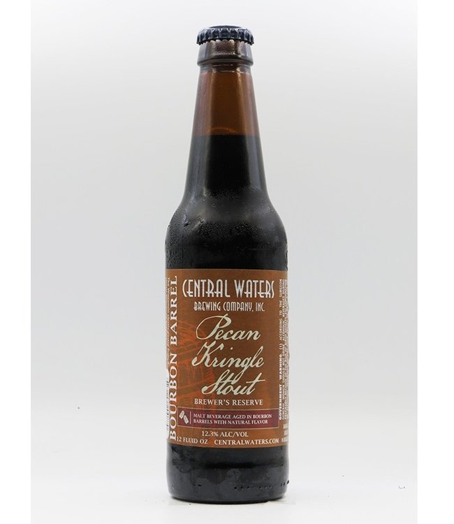 Central Waters BC - Brewer's Reserve Bourbon Pecan Kringle Stout