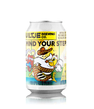 Uiltje Brewing co. Mind Your Step Peat Smoke Edition