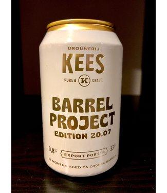 Kees Barrel Project 20.07 (Export porter 12 months Cognac B.A)