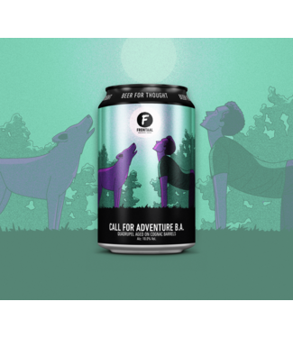 Brouwerij Frontaal Call For Adventure B.A.