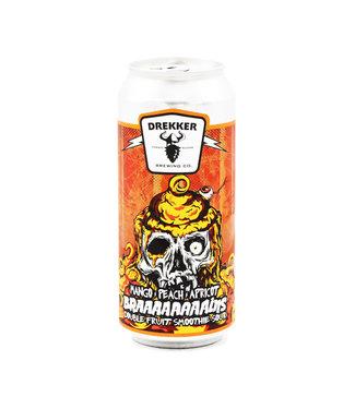 Drekker Brewing Company - Braaaaaaaains - Mango, Peach, Apricot