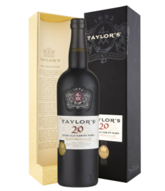 Taylor's 20 Year Old Tawny Port in Zwarte Luxe Etui