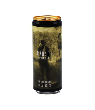 Paranormal Brewing Co collab/ Dry & Bitter Brewing Company - Manson