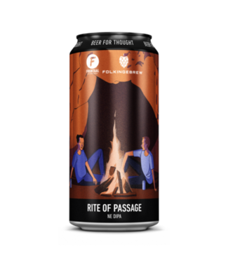 Brouwerij Frontaal Rite Of Passage (collab Folkingbrew)