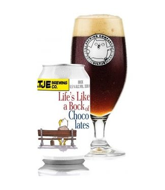 Uiltje Brewing co. Life's like a bock of chocolates