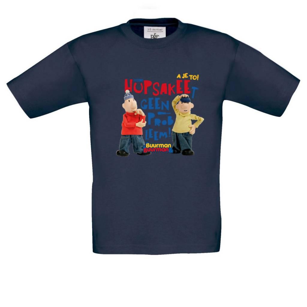 Buurman & Buurman T-shirt NAVY Kids Hupsakee