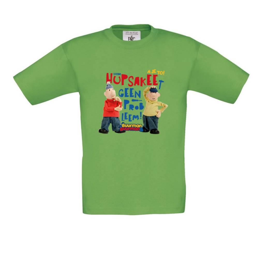 Buurman & Buurman T-shirt REAL GREEN Kids Hupsakee