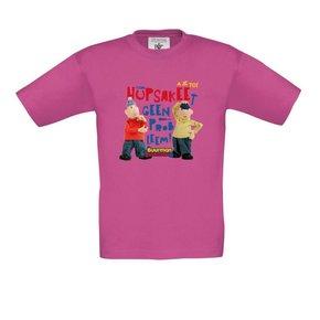 Buurman & Buurman T-shirt FUCHSIA Kids Hupsakee