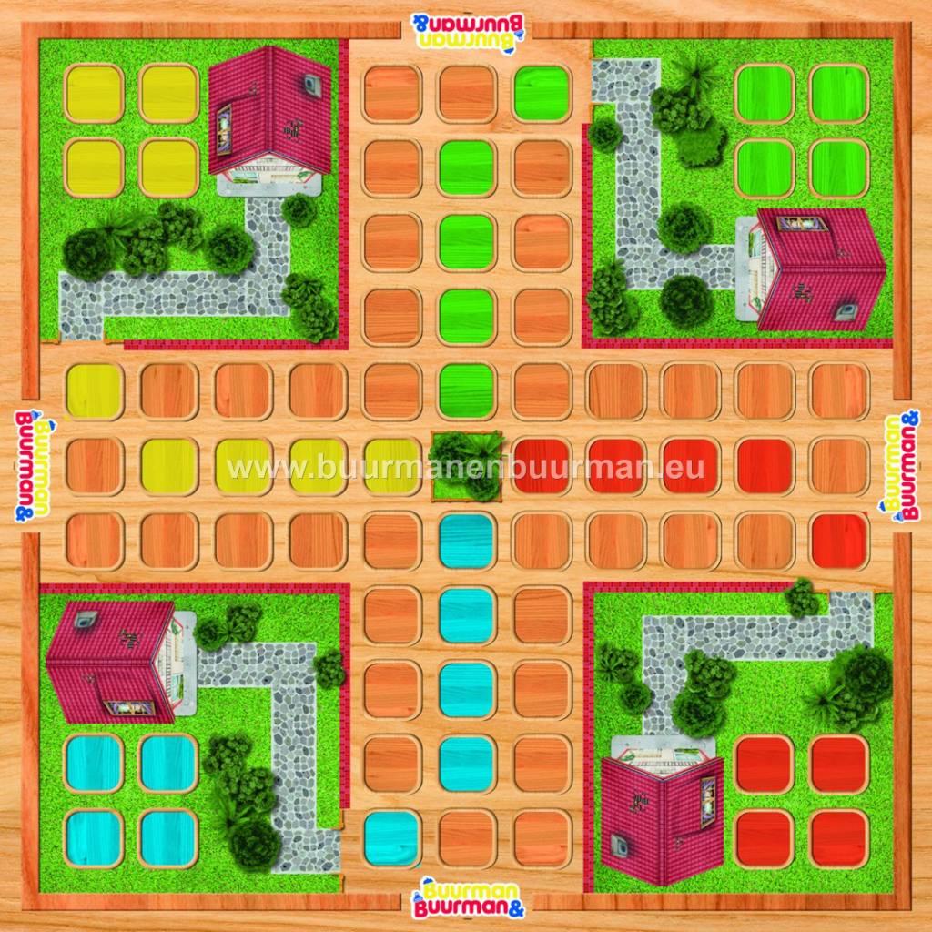 Buurman & Buurman spelen een spelletje - Ganzenbord - Mens erger je niet - Drie op een rij