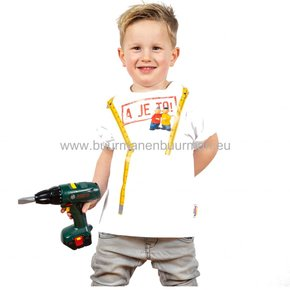 Buurman & Buurman T-shirt Kids Wit