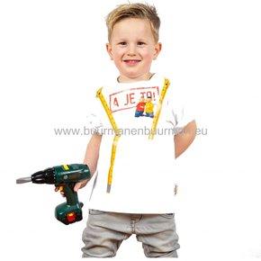 Buurman & Buurman T-shirt Kids Wit