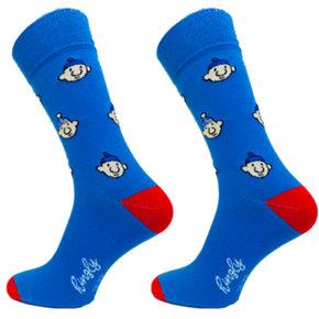 Buurman & Buurman sokken casual Hoofdjes