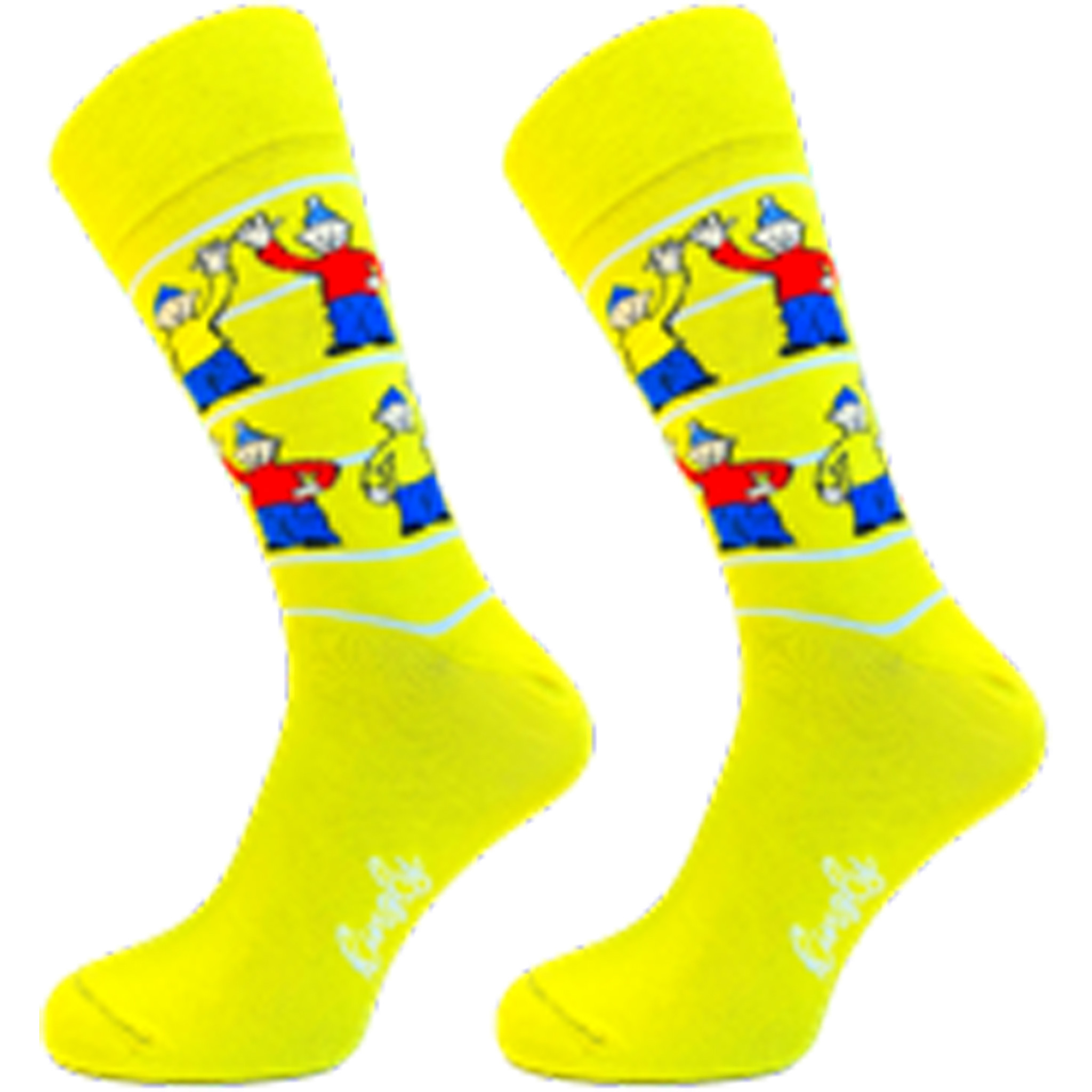 Buurman & Buurman sokken casual Zwaai Streep