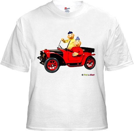 Buurman & Buurman T-shirt WIT AUTO Kids