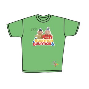 Buurman & Buurman T-shirt REAL GREEN Kids