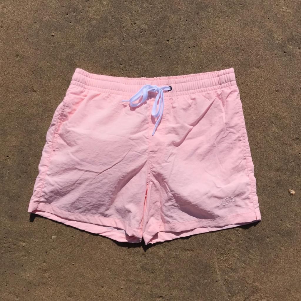 Manus Sunrise Swim Trunks Light Pink