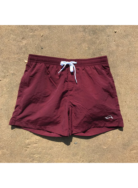 Manus Sunrise Swim Trunks Maroon
