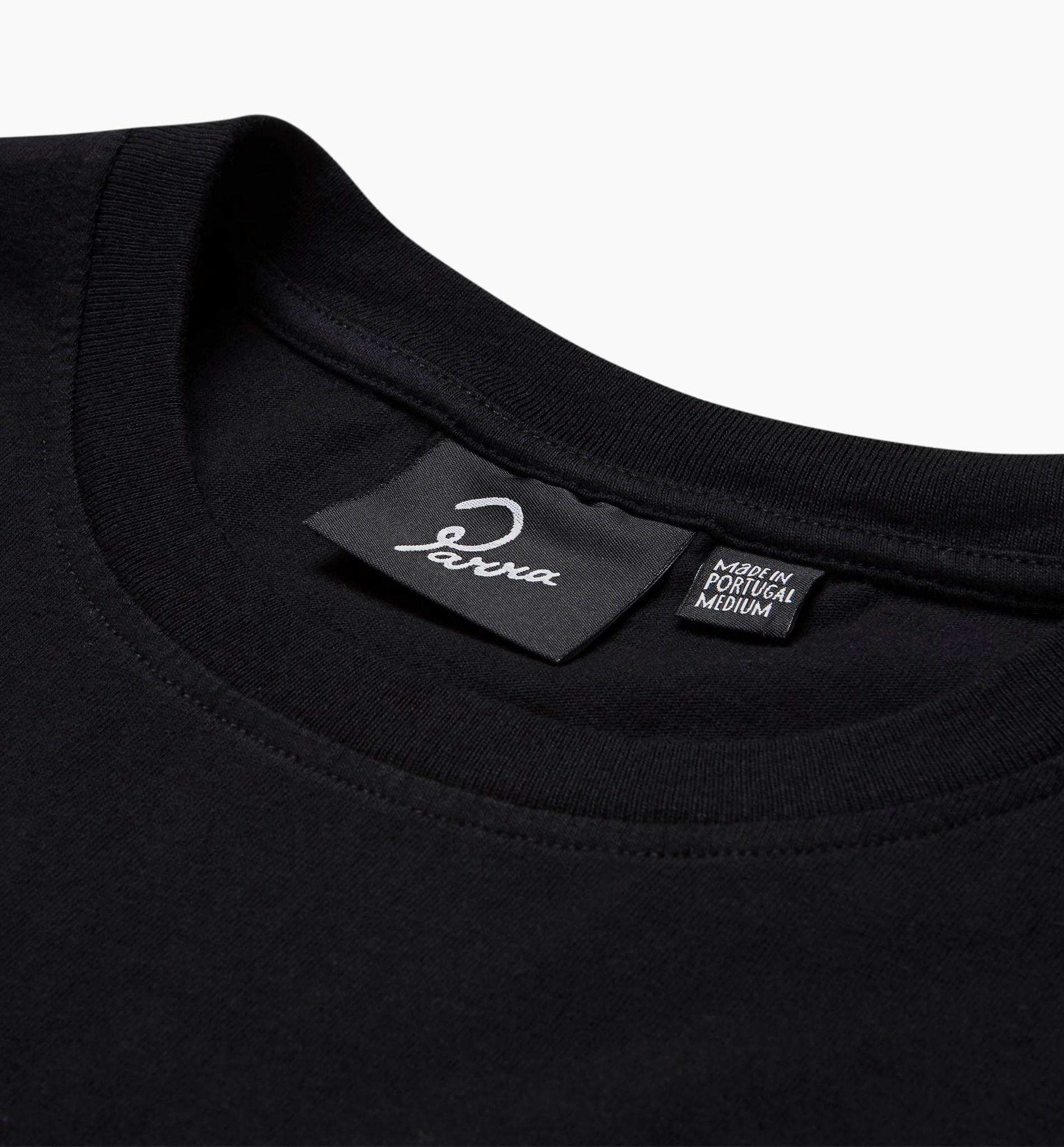 by Parra Open Eye T-Shirt Black
