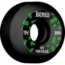 Bones 100s Sidecuts 54mm Black