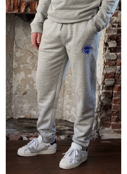 Manus Lounge Pants Heather Grey/Electric Blue