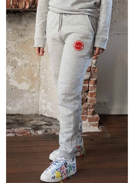 Manus Lounge Pants Heather Grey/Bullseye Red
