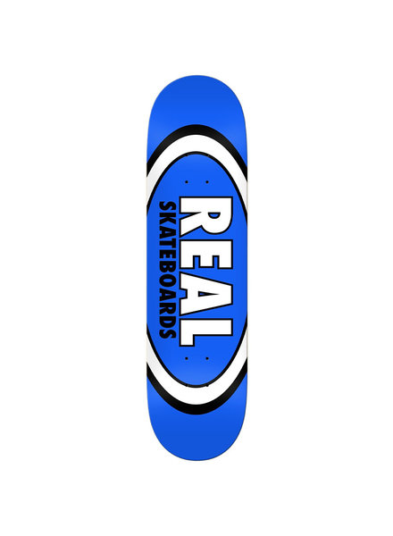 Real Team Classic Oval Deck Blue 8.5""