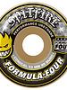 Spitfire Formula 4 Conial Wheels 54mm 99D