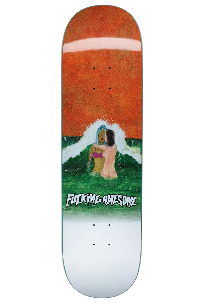 """Fucking Awesome Wave Painting Deck 8.25"""""""