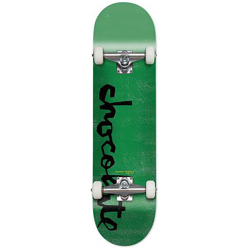 Chocolate Tershy Og Chunk Complete Skateboard Green 8.125