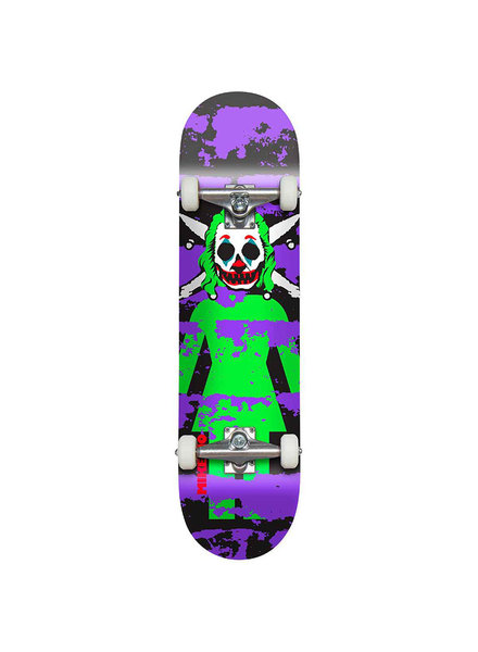 Girl Mike Mo Clown Pirate Complete Skateboard 8.125