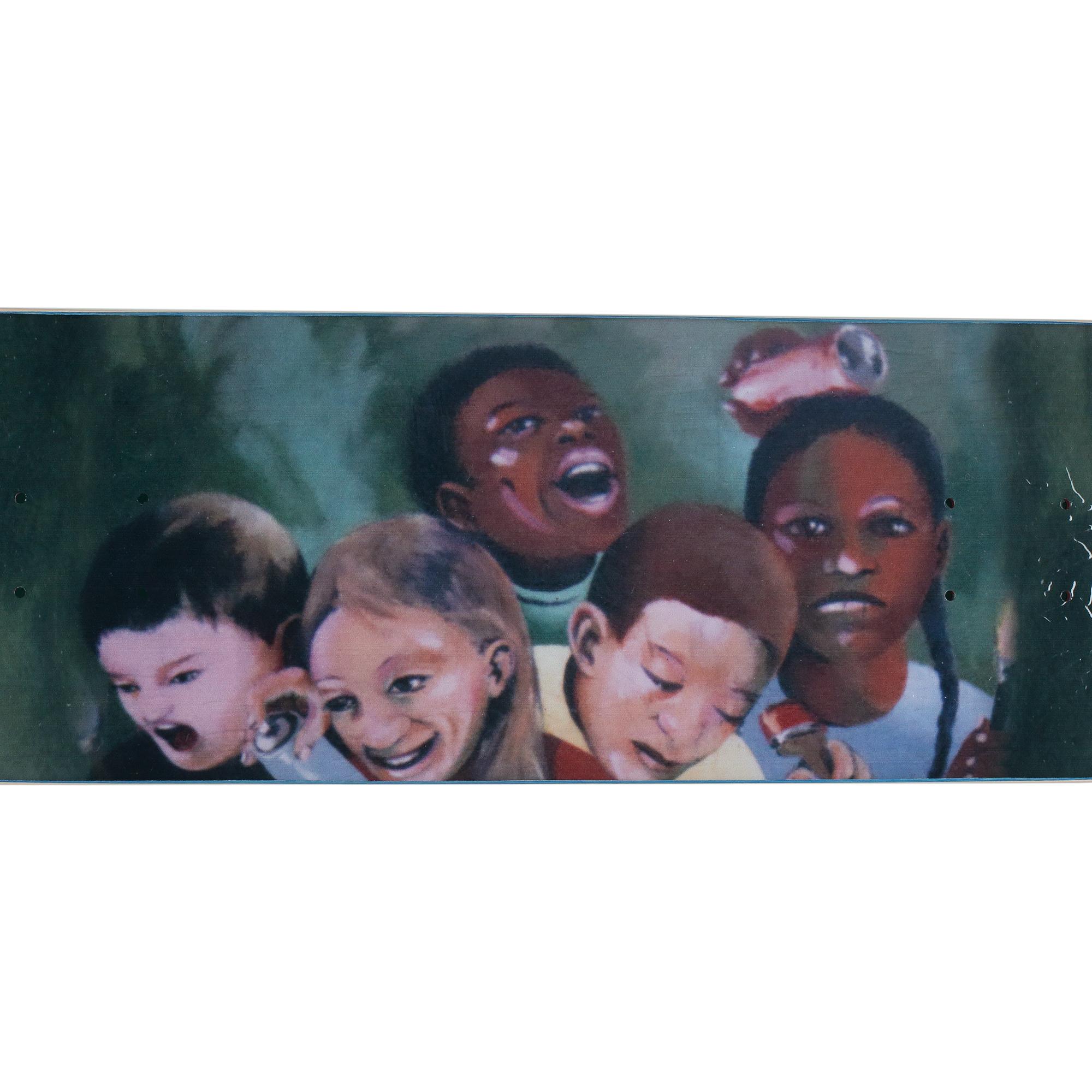 "Fucking Awesome Na-Kel Kids Mural Deck 8.25"""