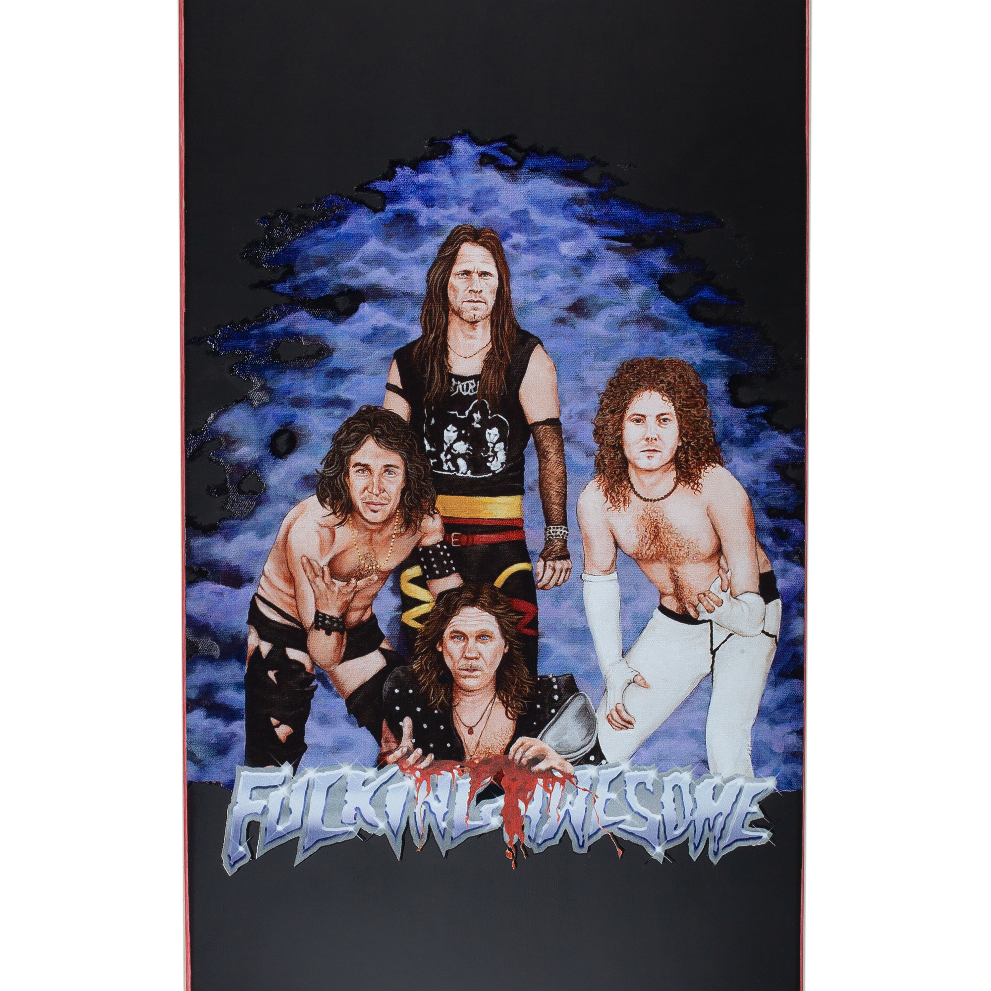 """Fucking Awesome Ave/Aidan/Berle/Dill Heavy Metal Deck 8.38"""""""