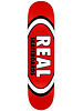 """Real Team Classic Oval Deck Red 8.12"""""""