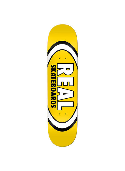 """Real Team Classic Oval Deck  Yelow 8.06"""""""