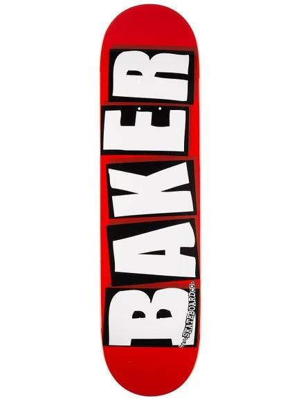 """Baker Logo White Deck 8.5"""""""