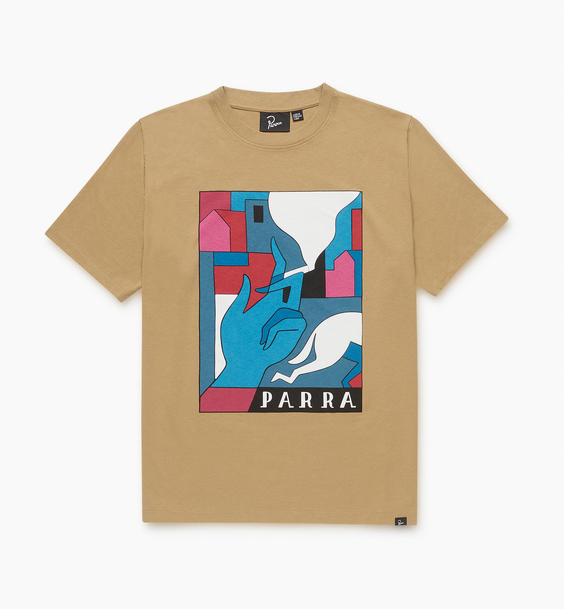 by Parra Bad Habits T-Shirt Camel