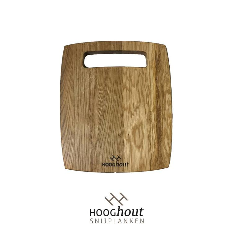 Hooghout Snijplanken Eiken Houten Tapasplank 25x21 cm