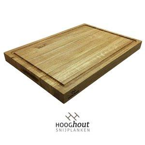 Hooghout Snijplanken eiken houten Snijplank 50x35x4 cm