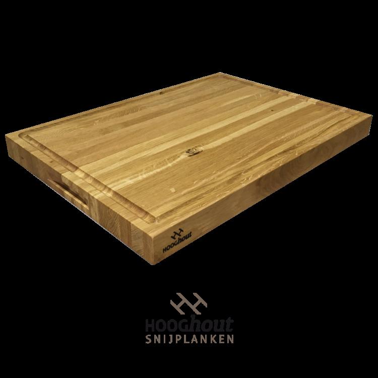 Hooghout Snijplanken eiken houten Snijplank 55x40x4 cm