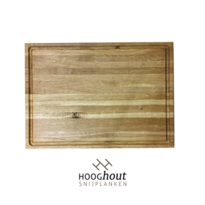 Hooghout Snijplanken eiken houten Snijplank 40x28x4 cm