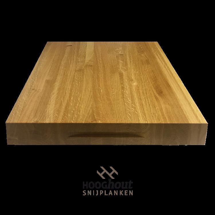 Hooghout Snijplanken Eiken houten snijplank op maat gemaakt