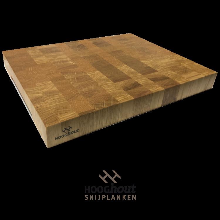 Hooghout Snijplanken Grote Snijplank Eiken Kopshout 50x40x5