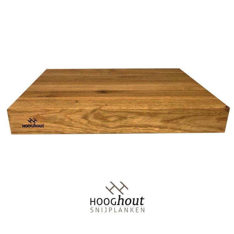 Hooghout Snijplanken Grote Houten Snijplank 70x45x5 cm