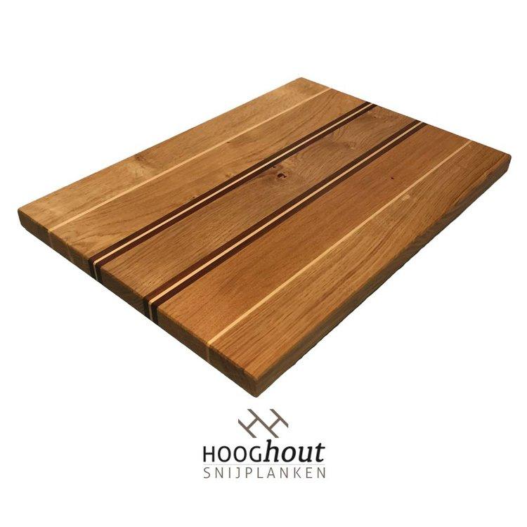 Hooghout Snijplanken Foodies Houten Snijplank 40x27x2 cm