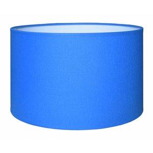 RamLux Lampenschirm 40 cm Zylinder CHINTZ Blau