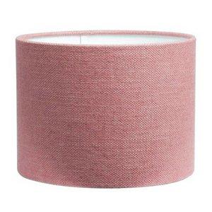 RamLux Lampenschirm 35 cm Zylinder LIVIGNO Alt Rosa