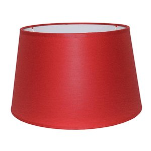 RamLux Lampenschirm 45 cm Konisch CHINTZ Rot