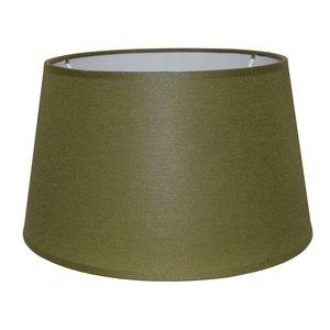 RamLux Lampenkap 45 cm Drum CHINTZ Olijfgroen