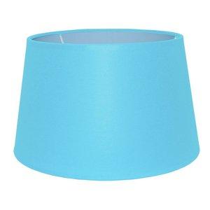 RamLux Lampenkap 40 cm Drum CHINTZ Licht Blauw