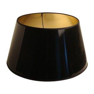 Light & Living Lampenkap 30 cm Drum LAK Zwart